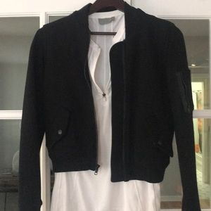 James Perse Cotten bomber jacket